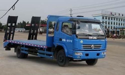 程力威牌CLW5080TPBD4型平板运输车